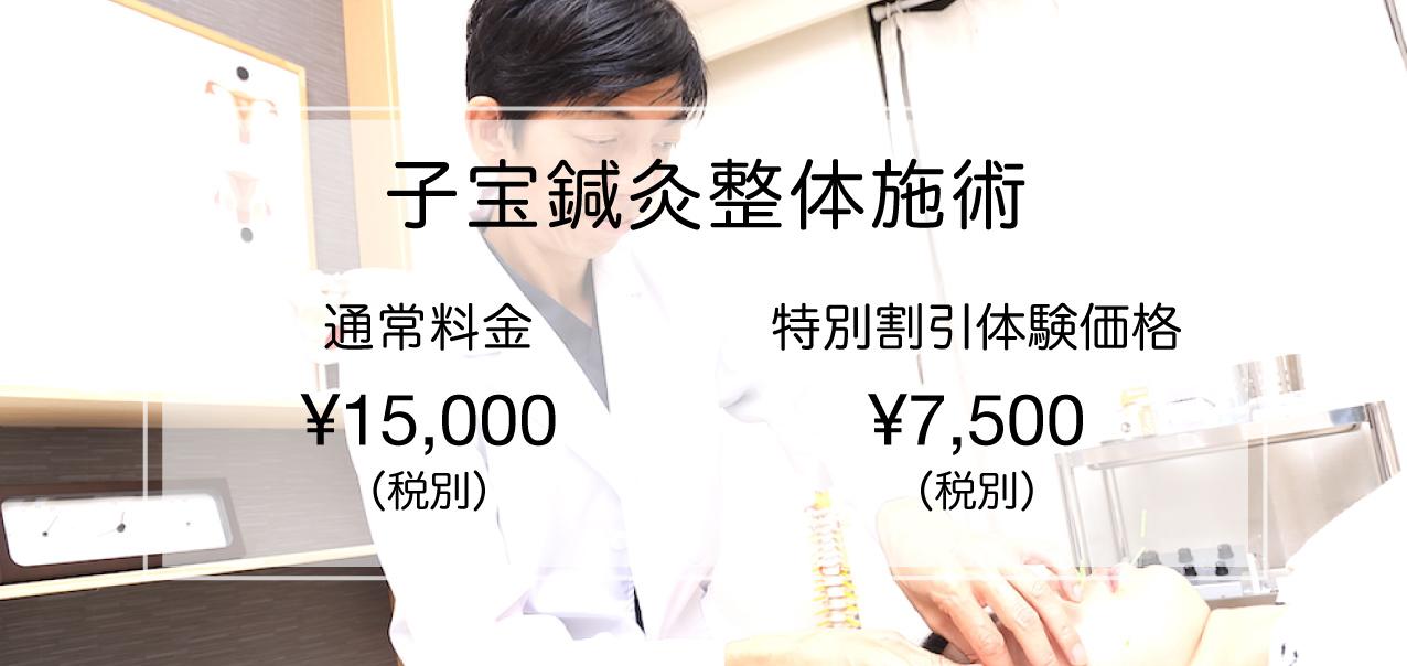 不妊症鍼灸整体料金